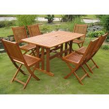 Teak Patio Dining Set - patio tables rectangular patio tables vifah wood patio tables
