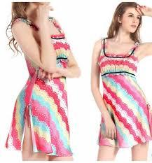 summer style women u0027s silk pajama night dress nightgown