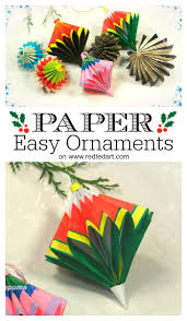 paper ornaments ted s