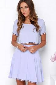 two dress set lavender dress two dress crop top set 78 00