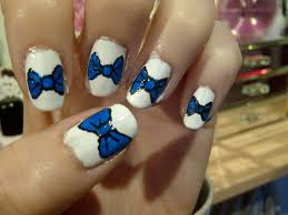 accent your nails with bows and copy these 15 cute nail designs