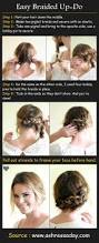 easy back to hairstyles cute quick and easy braids for best 25 easy braided updo ideas only on pinterest easy updo