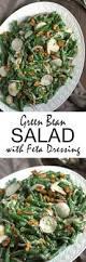 green bean salad with feta dressing u2013 turnip the oven