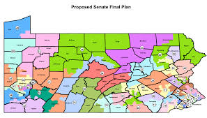 Pa County Map New Pa Senate Districts Proposed Final Map Rock The Capital A