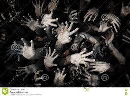 halloween zombie background hand ghost zombie bloody hands background maniac blood zombie h