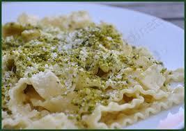 cuisine italienne pates recette italienne de pâtes mafaldines aux pistaches ideoz voyages