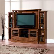 Sauder Tv Stands And Cabinets Sauder Orchard Hills Home Theater Carolina Oak 402743