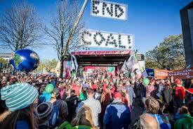 Stadtstrand Bad Kissingen Klima Schützen Kohle Stoppen Demonstration Zur
