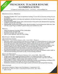 preschool resume template resume preschool preschool resume template