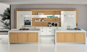 cuisine contemporaine blanche et bois déco cuisine moderne en bois 27 grenoble faience cuisine