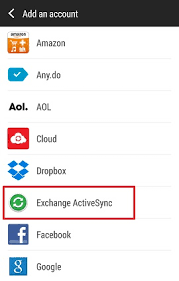 android email how to configure android for office 365 exchange email