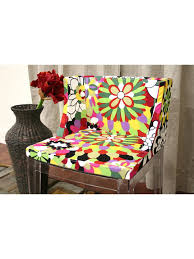 Floral Accent Chair Floral No 9 Chair Modern Furniture Brickell Collection