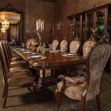 Dining Room Accent Furniture Platine De Royale Lt Espresso Michael Amini Furniture Designs