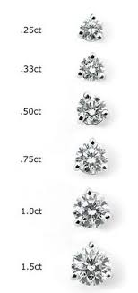 diamond stud sizes 108 best diamants size images on diamonds auction and