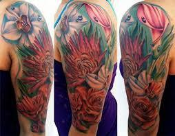 53 amazing shoulder half sleeve tattoos
