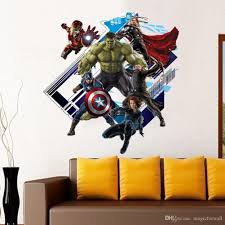 avengers age of ultron peel and stick wall decal stickers avengers age of ultron peel and stick wall decal stickers removable 3d art wall murals decoration for kids bedroom nursery wallpaper peel and stick wall