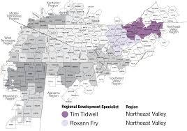Northeast Map Tva Northeast Valley Region