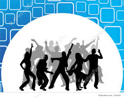 party silhouette silhouette people dancing stock illustration i1587641 at featurepics
