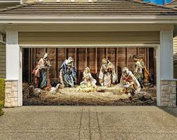outdoor nativity etsy
