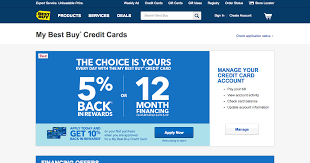 how to apply for the best buy credit card