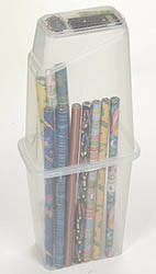 gift wrapping storage add consults store gift wrap organizer
