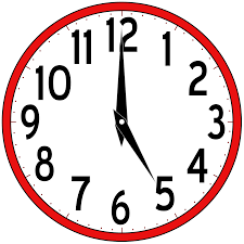 analog clock clipart clipartxtras