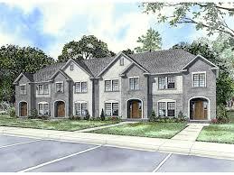 laboure european fourplex home plan 055d 0404 house plans and more