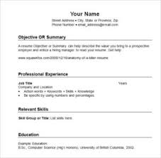 Chronological Format Resume Example by High Resume Template Sample Food Delivery Resume
