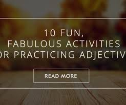 915 free adjective worksheets