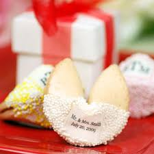 new year s fortune cookies new year s wedding favor ideas