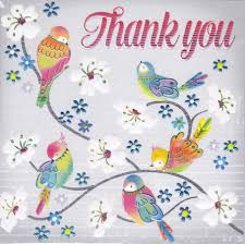 where to buy thank you cards birds blossom thank you card karenza paperie