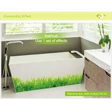 Dekoration Wohnzimmer Ecke Aliexpress Com Praktikable Grüne Gras Wandaufkleber Removable