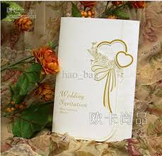 wedding invitations thank you card western style wedding cards