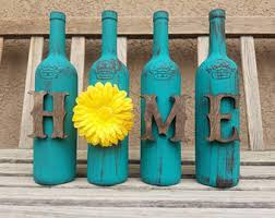 Upcycled Wine Bottles - we sell upcycled wine bottle and wine themed by winecraftcreations
