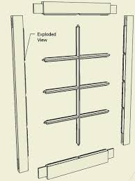 Fine Woodworking Magazine Australia by Making A Window Sash Or Breakfront Cabinet Door Finewoodworking