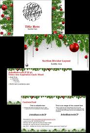 happy holidays powerpoint template free the powerpoint blog