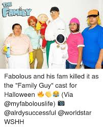 fabolous and his fam killed it as the family cast for