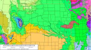 south dakota road map gravity and magnetic maps of south dakota