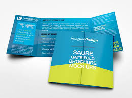 gate fold brochure template indesign square gate fold brochure mockup mockup brochures and booklet