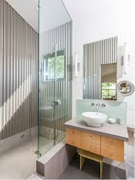 galvanized corrugated metal bathroom ideas houzz