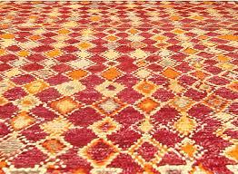 Red And Orange Rug Vintage Moroccan Rug Bb4764 By Doris Leslie Blau