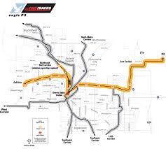 denver light rail expansion map denver s botched fastracks privatization