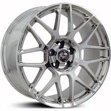 Mustang Black Chrome Wheels Fits Ford Mustang Fr16 Factory Oe Replica Wheels U0026 Rims