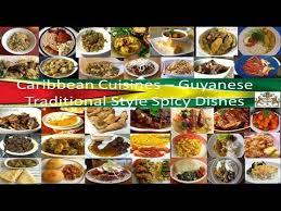 different types of cuisines in the guyanese foods cuisines