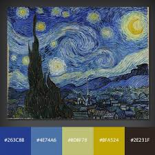 10 free color palettes from 10 famous paintings design shack