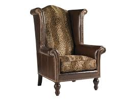 Leather Wingback Chair Lexington Leather Kings Row Leather Wing Chair Lexington Home Brands
