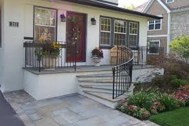 advantages of using wrought iron for porch railing and handrails