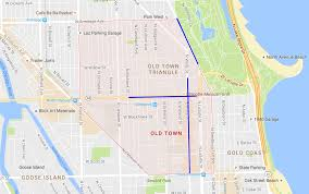Lincoln Park Chicago Map how to find parking in old town easy chicago parking