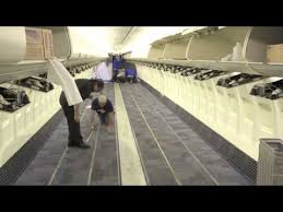 Southwest Airlines Interior Time Lapse Southwest Airlines Refurbishes Boeing 737 700 Interior