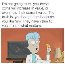 Meme Coins - rick and morty on bitcoin bitcoin know your meme